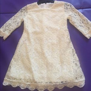 Other - Ivory Lace Dress